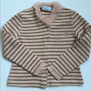 Italian Brand Blumarine Girls Sweater Size 6